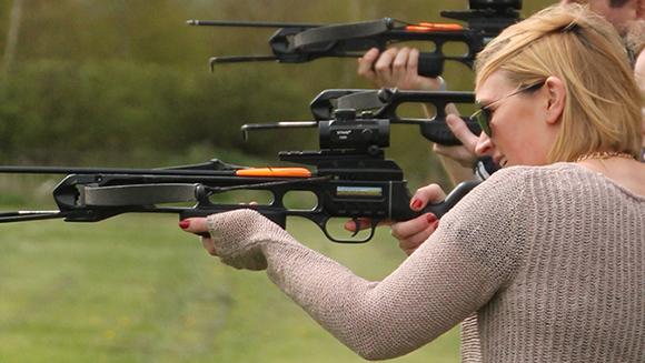 crossbow shooting garlands corporate mythe farm