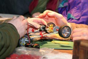 knex car race design build garlands corporate team challenge
