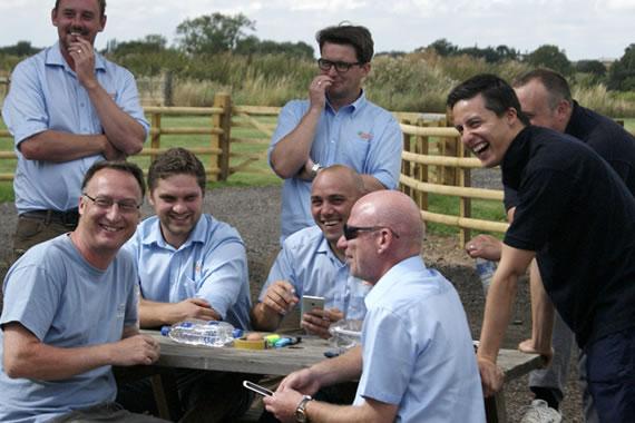 team review garlands corporate mythe farm