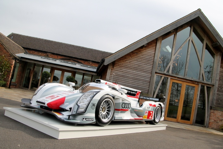 audi car launch mythe barn garlands corporate