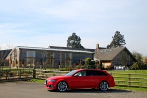 RS6 at Mythe Barn