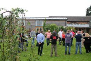 team challenge talk garlands corporate mythe farm